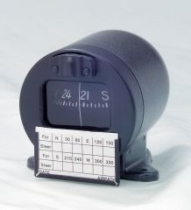 KP.005.1 MCDN-2L Magnetkompaß zum Panelaufbau mit Beleuchtung