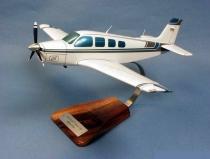 V.001 Holzmodell Beech A-36 Bonanza