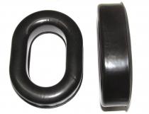 UFQ.7 Ersatz-Ohrmuscheln Gel-gefüllt