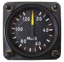 FM.004 Fahrtmesser / Airspeed Indicator 57mm Einbaumaß