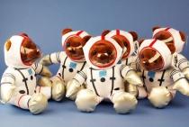 GA.009.4 Astronautenbär mit Raumanzug 24cm