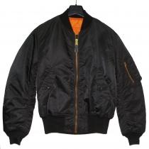 T.032.4 Orig.US Bomberjacke MA-1 Flyer´s Jacket schwarz