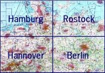 13500.1 ICAO-Wandkarte Deutschland Blatt Nord 2021