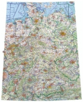 13500 ICAO-Wandkarte Deutschland 2021