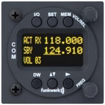 F.005 Flugfunkgerät f.u.n.k.e ATR 833-II-OLED