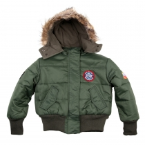 T.033.2 Kinder-Jacke/Polar-Jacket US Airforce Type N2B Bitte Maße beachten!