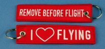 RBF.092 Remove before Flight I love Flying