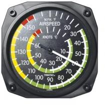 GA.010 Thermometer im Cockpit-Design Airspeed