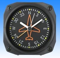GA.011a Tischuhr mit Weckfunktion Kreiselkompass