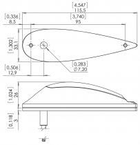LED.044 Aveo Flugzeugbeleuchtung Power Burst NG DayLite