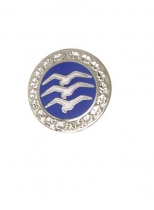 Segelfliegerabz.Nr.1 Miniatur Silber-C Größe 10mm