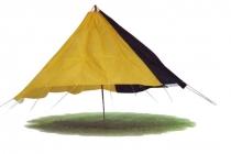D.002 Zweifarben-Fallschirm gelb/schwarz