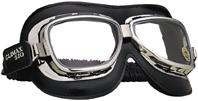 SB.025 Oldtimer-Brille Climax 510 Classic, verchromter Rahmen