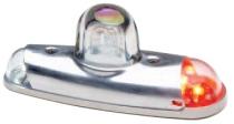 L.034a Whelen LED-Flügelendleuchte rot mit Strobe...