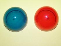 L.023 Ersatz-Abdeckglas für L.08, L.011, L.017 rot oder grün.