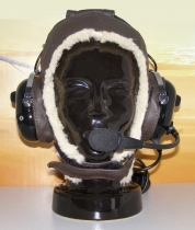 T.042 Headset-Lederhaube Winter