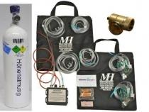 MH.002 Elektr.Sauerstoffsystem EDS 02D2-2G u. 2 Ltr.Alu-Flasche