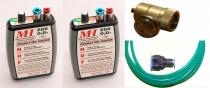 MH.005 Elektr.Sauerstoffsystem EDS 02D1-2G für 2 Personen