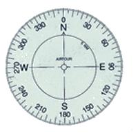 N.015A Kompass-Rose zum aufkleben