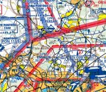 ICAO-F Digitalisierte ICAO-Karten Frankreich