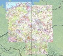 V500-EP Digitalisierte Karte DFS VFR 500 Polen
