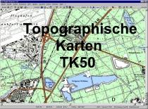 FP.053 TK50-DL Topographische Karten Deutschland kompl. auf DVD