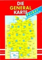 DGK-S Digitale Generalkarte 2016 mit FS-Aufdruck Deutschland Süd